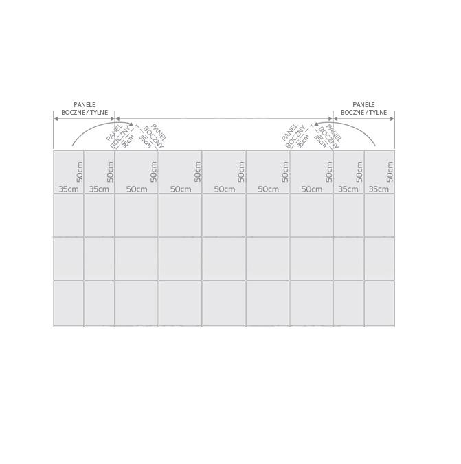 scianka-panel-przygotowanie Systemy wystawiennicze