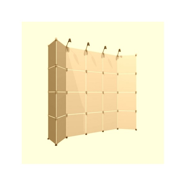 scianka-wystawiennicza-panelowa-z-jednostronnym-wydrukiem Systemy wystawiennicze